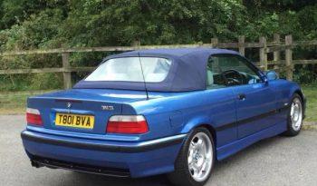 99/T REG E36 BMW M3 CABRIOLET ESTORIL BLUE full